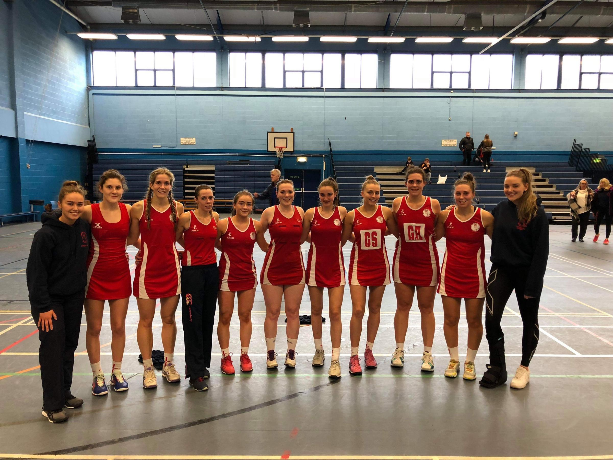Warrington Town Netball Club after Saturday's win over Tameside