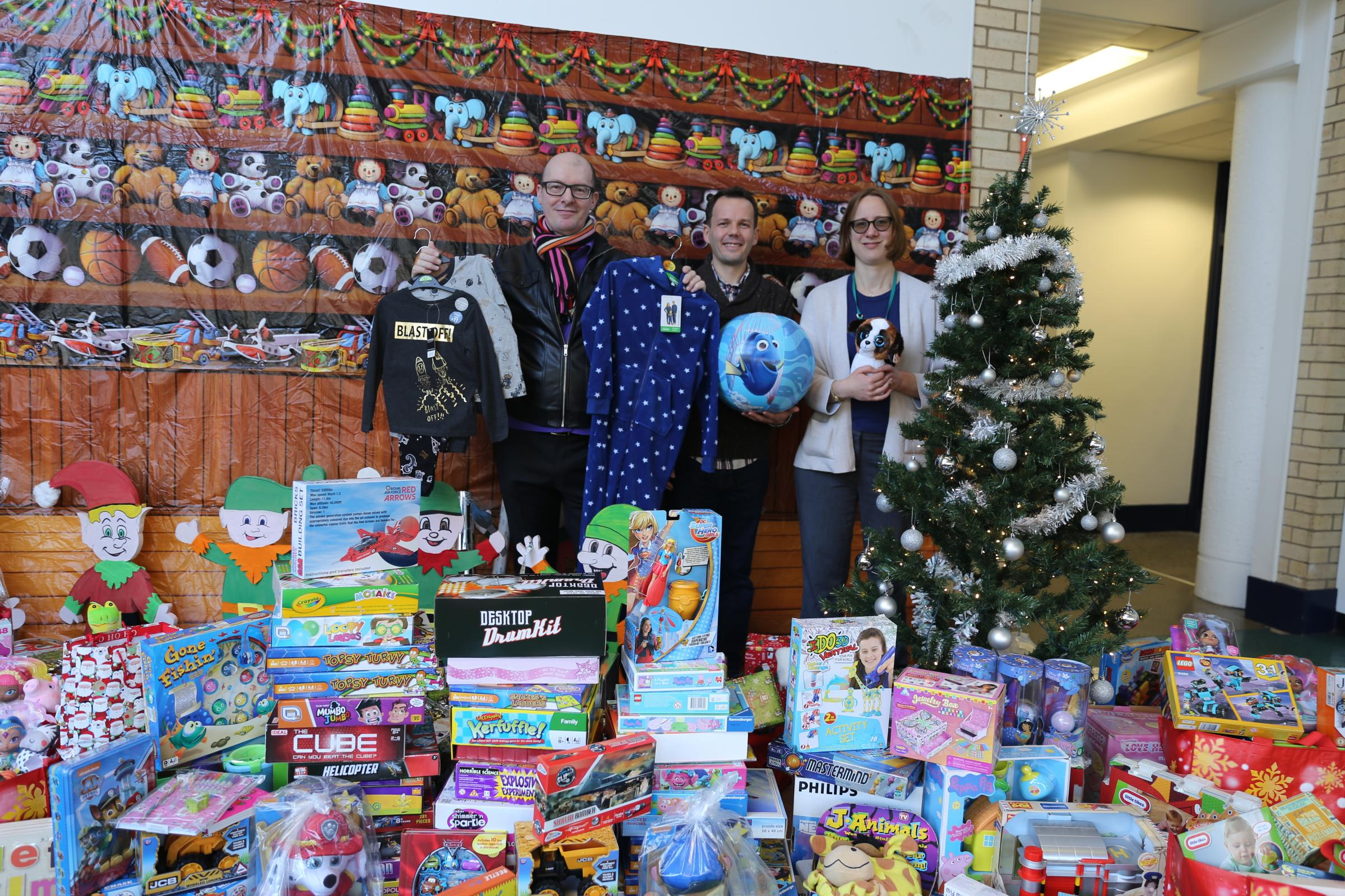 Charity collection set to brighten Christmas for Warrington families