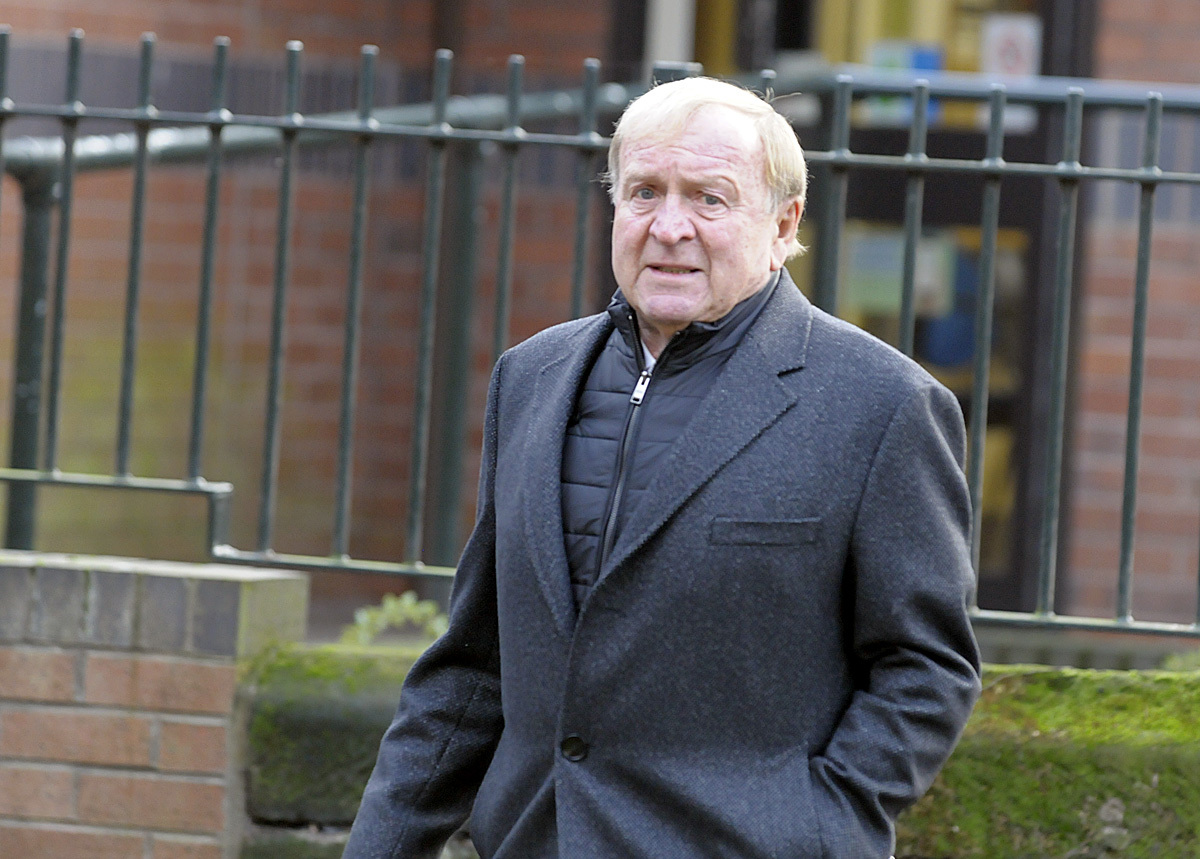 Manchester City greats in farewell to Johnny Hart at Warrington memorial service