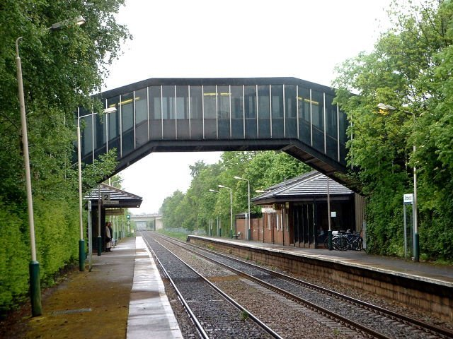 Teenager found with knife on railway tracks arrested following police chase