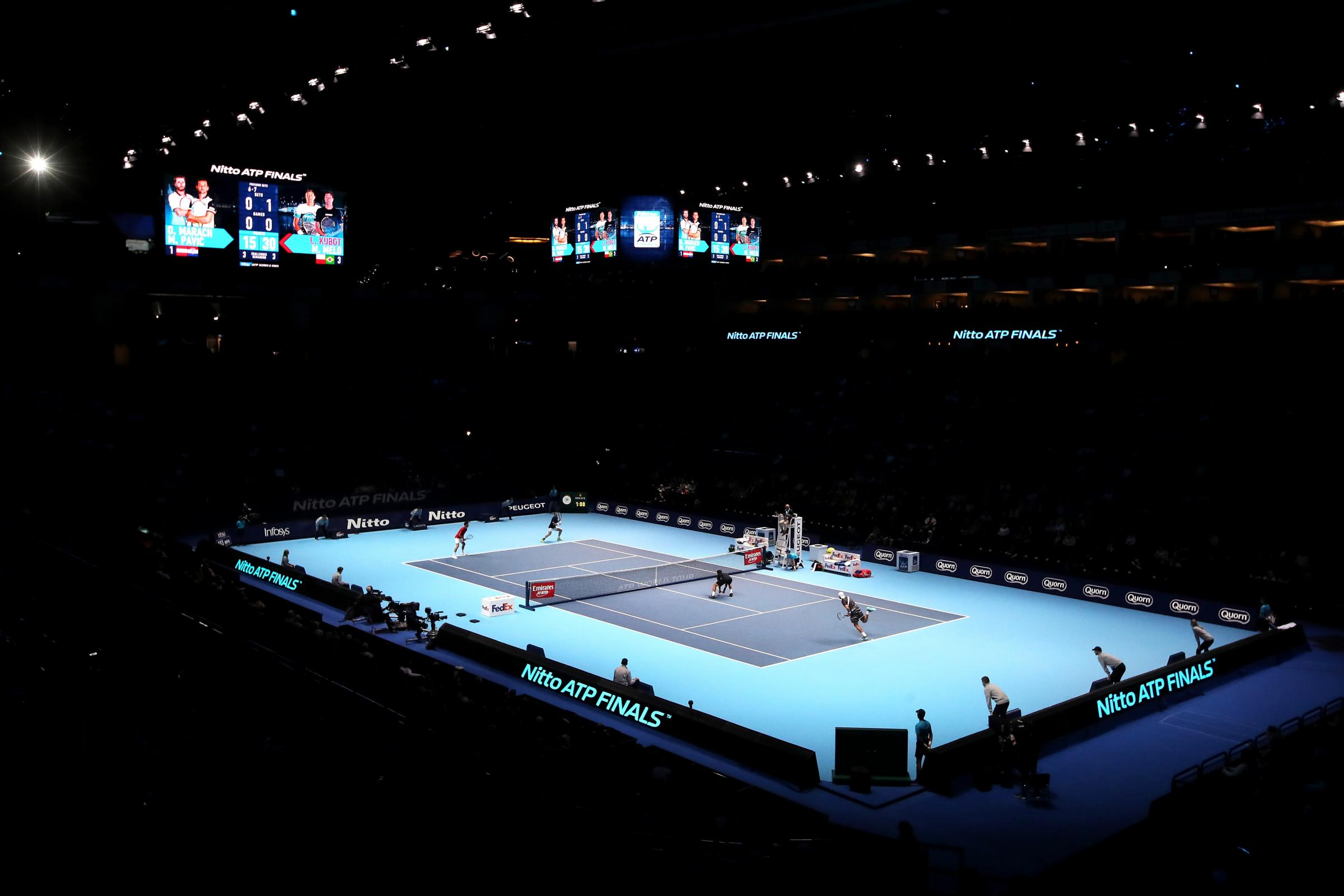 London's 02 Arena has hosted the ATP Finals since 2009