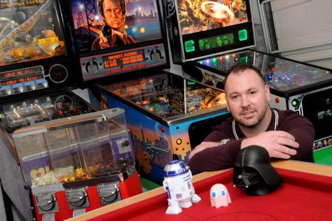 Richard Telfer is set to open the Retro Arcade on Crown Street in the town centre.