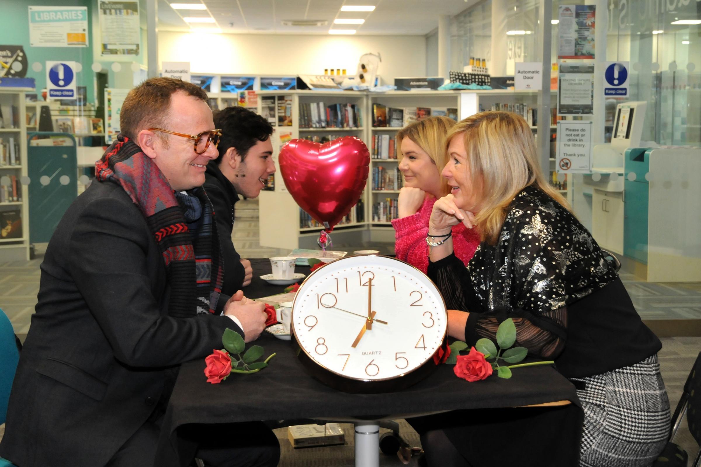 hastighet dating Warrington Gay ned lav Dating Sites