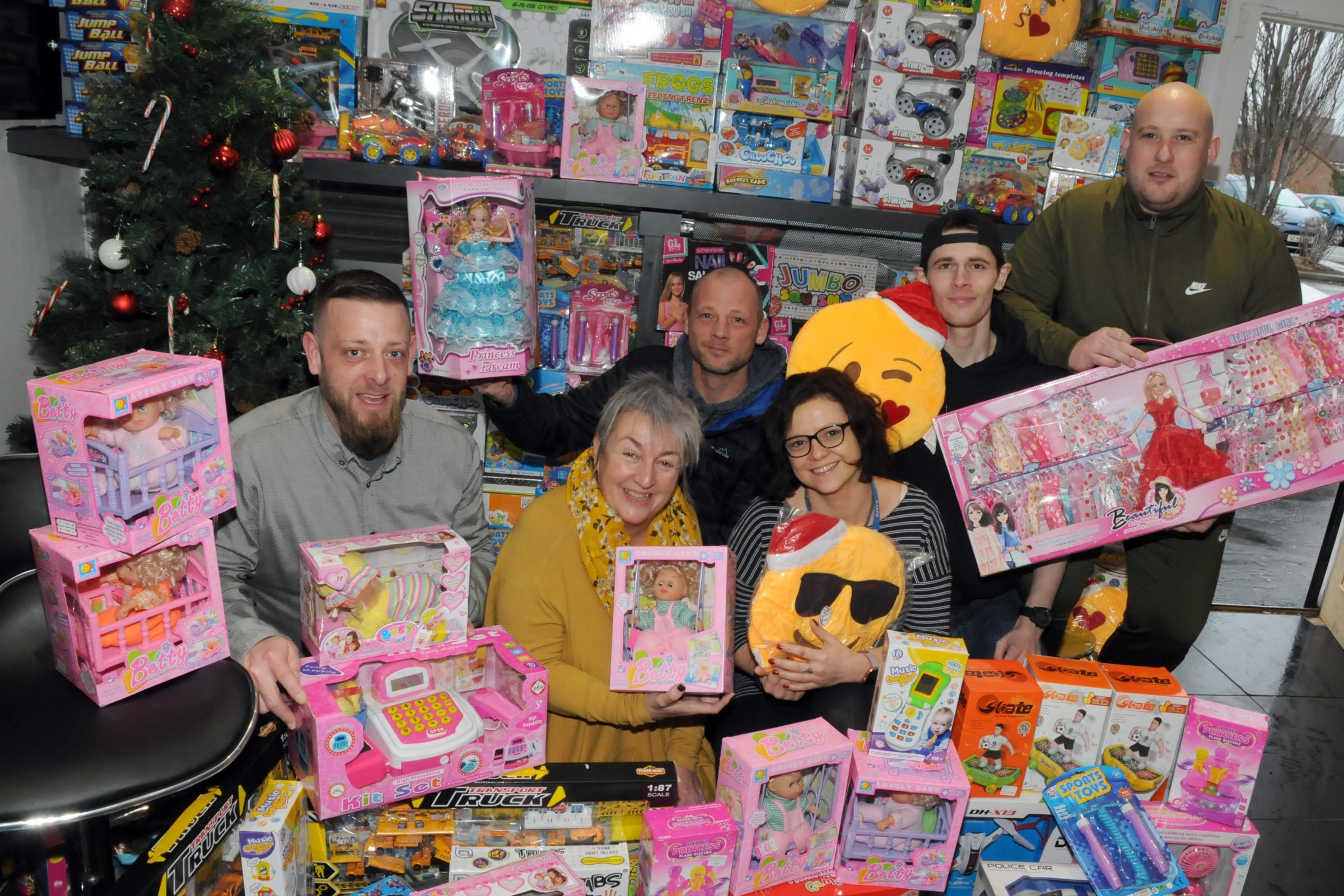 Planet Snax on Orford Lane has donated £2,500 worth of toys to the St Joseph's Family Centre.