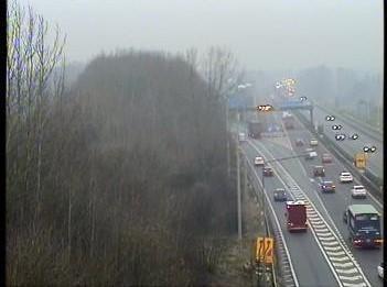 M62 crash leaves traffic at standstill | Warrington Guardian