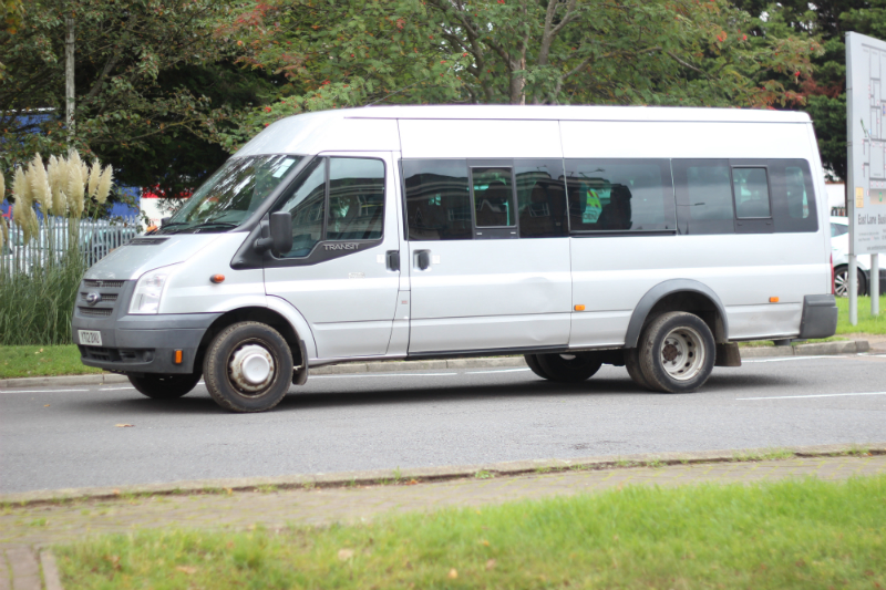 Bluebell Park School's minibus, similar to the one pictured, was stolen from Ikea Warrington yesterday morning.