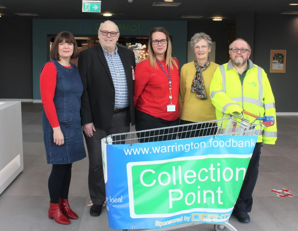 Warrington Foodbank Gets Boost After Busiest Period Yet