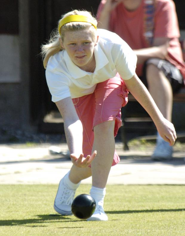 Warrington Guardian: Rebecca Higgins in league action on Saturday