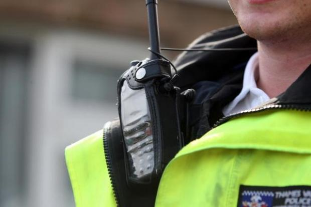 Police on the beat this weekend in towns and on roads to urge residents to go home