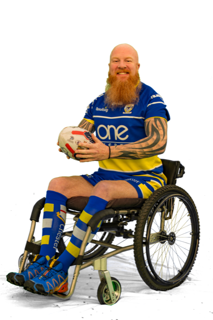 Adrian Derbyshire will captain and coach Warrington Wolves' new wheelchair rugby league team.