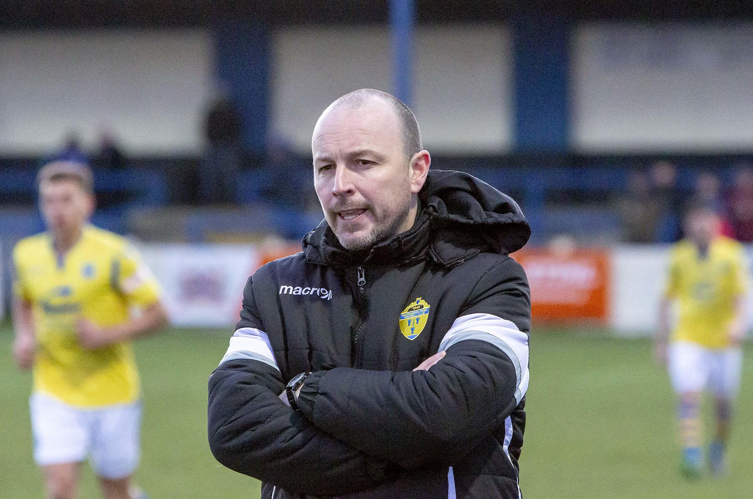 Warrington Town boss on Gainsborough Trinity clash