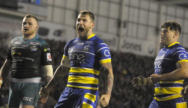 Daryl Clark is the latest player to commit his future to Warrington Wolves. Picture by Mike Boden
