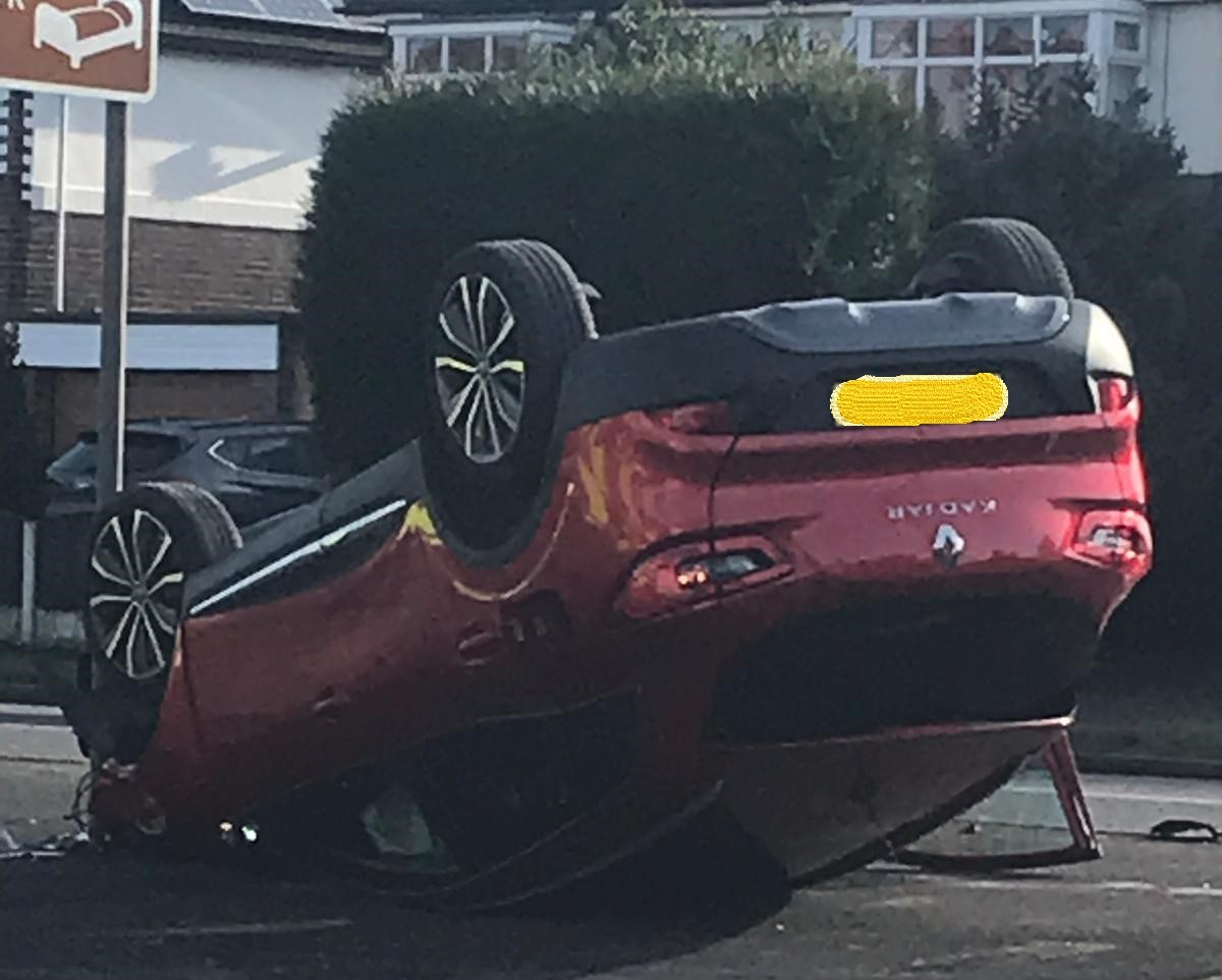The car in Grappenhall