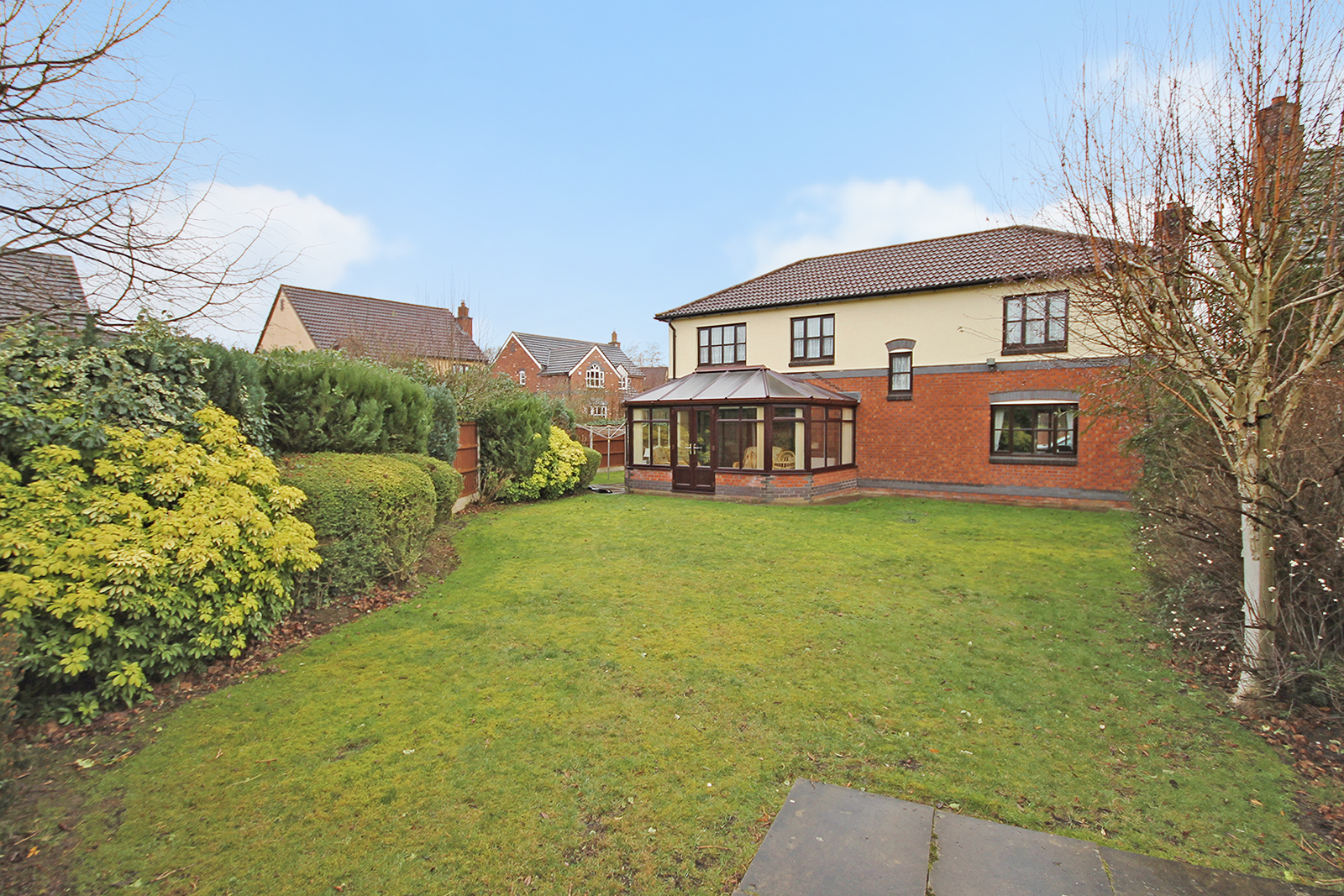 Secluded location for £550,000 five-bedroom family home