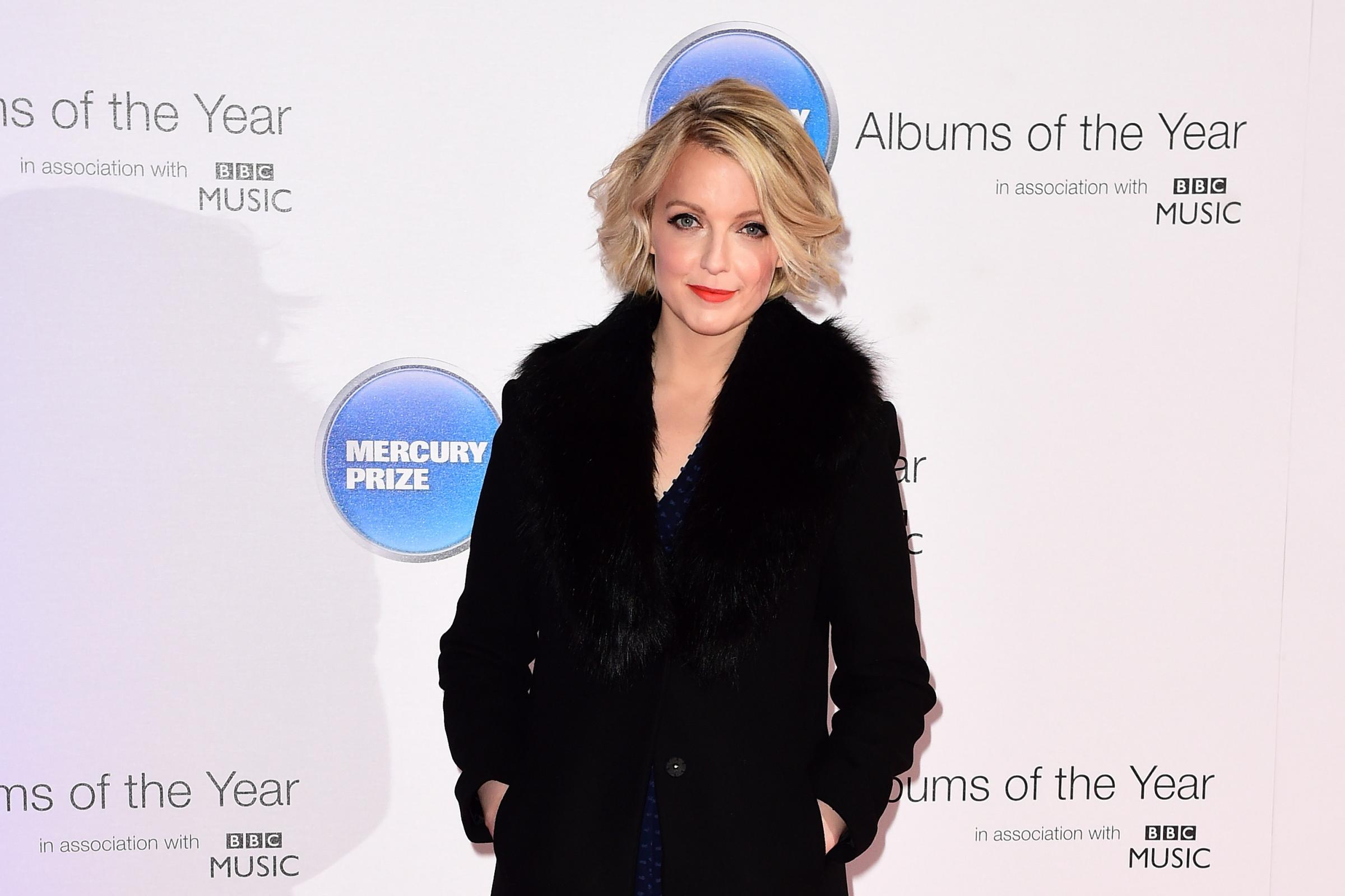 Lauren Laverne on the red carpet