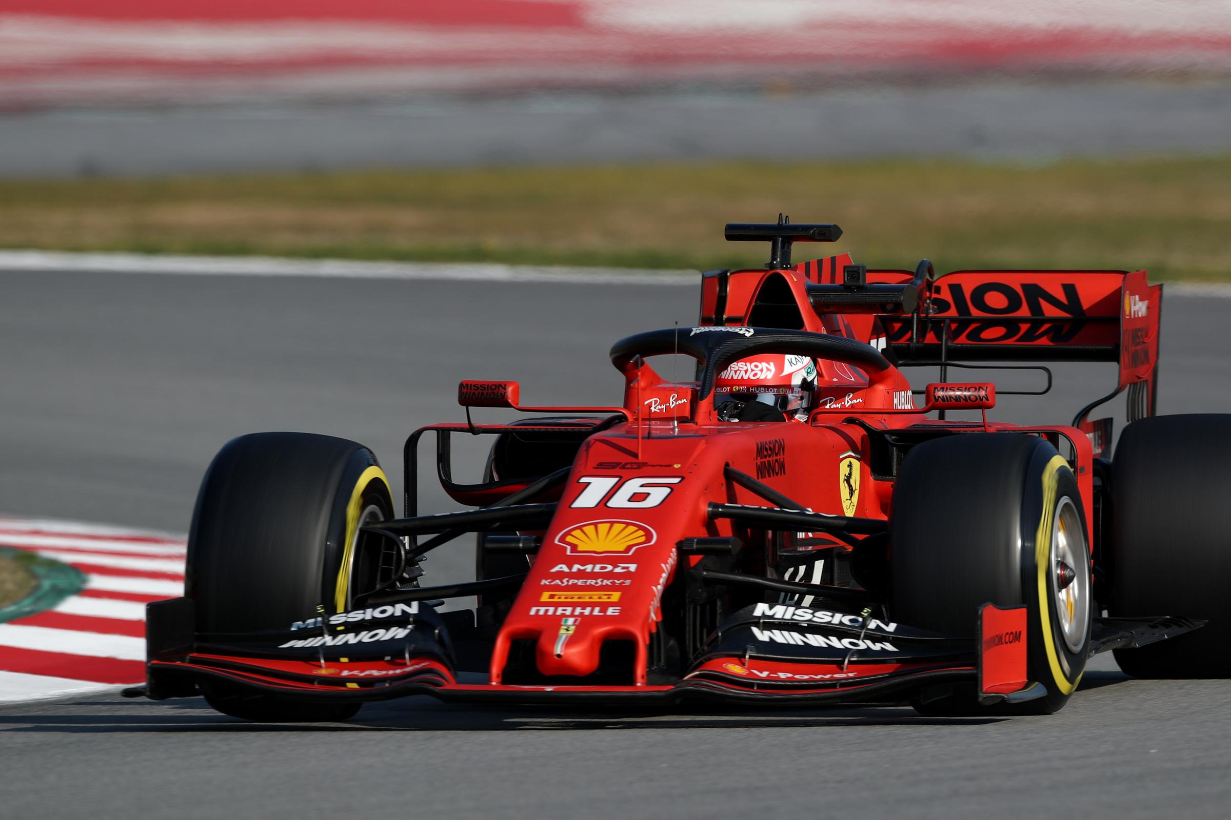 Ferrari appear the team to beat
