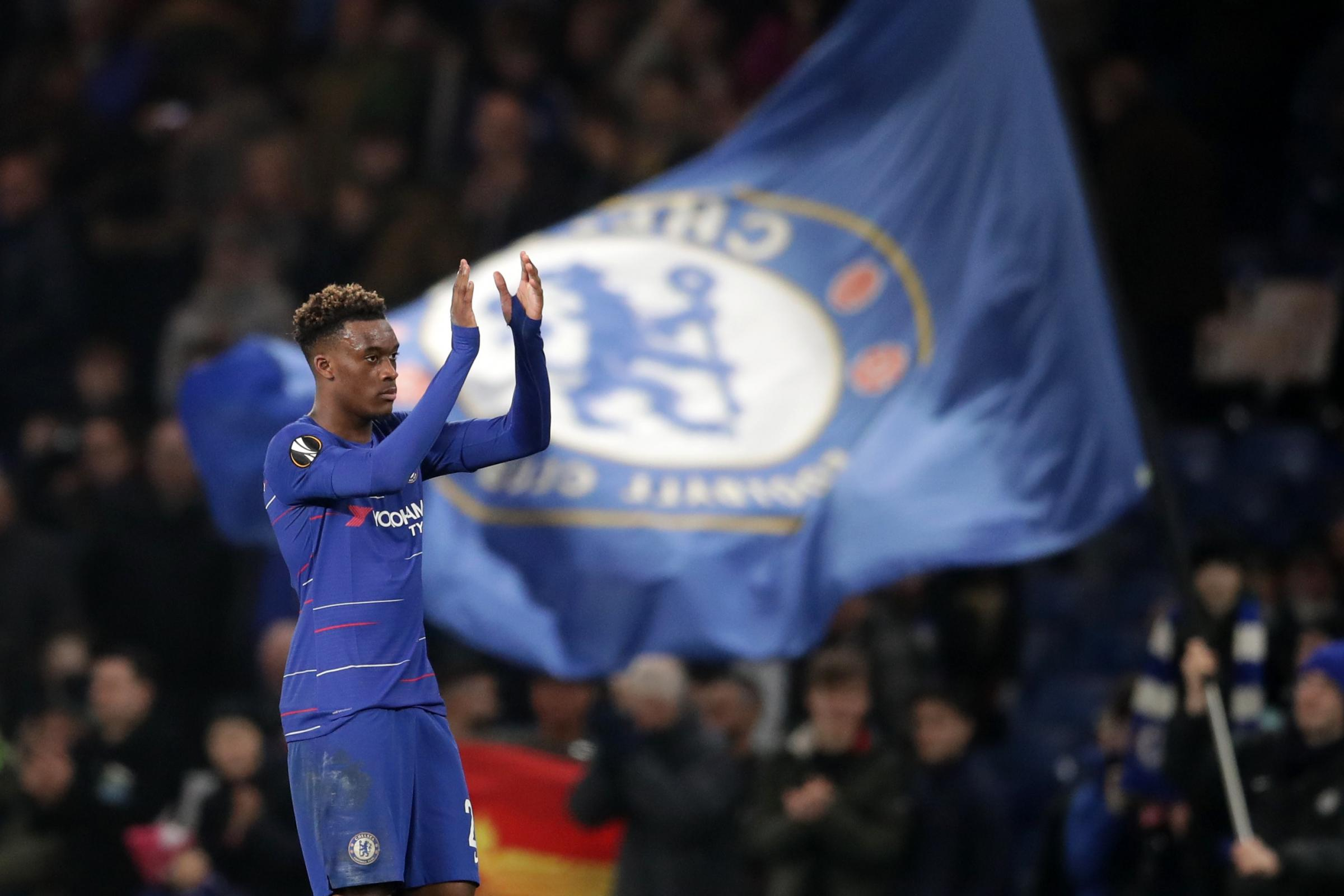 Callum Hudson-Odoi helped the Blues progress to the last 16 of the Europa League