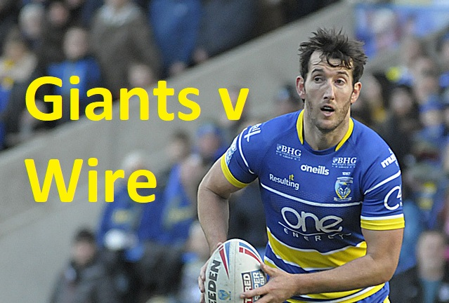 MATCHDAY LIVE: Huddersfield Giants v Warrington Wolves
