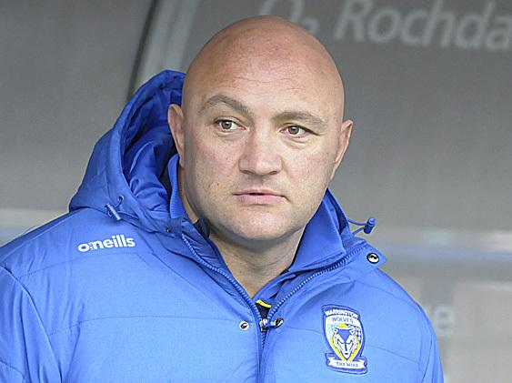 Paul Anderson, head coach of Warrington Wolves under 19s. Picture: Mike Boden