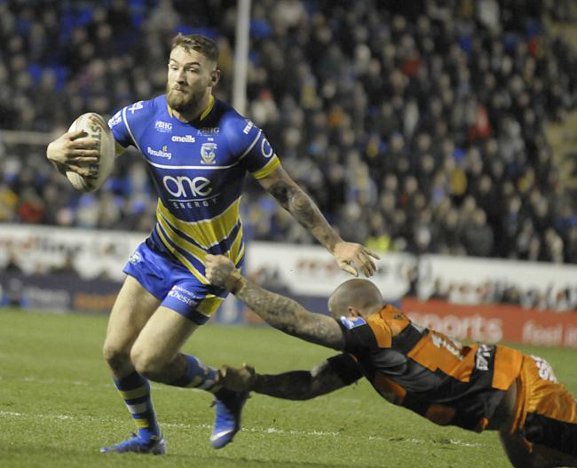 The Wire will face Castleford Tigers in an elimination match on Thursday. Picture by Mike Boden
