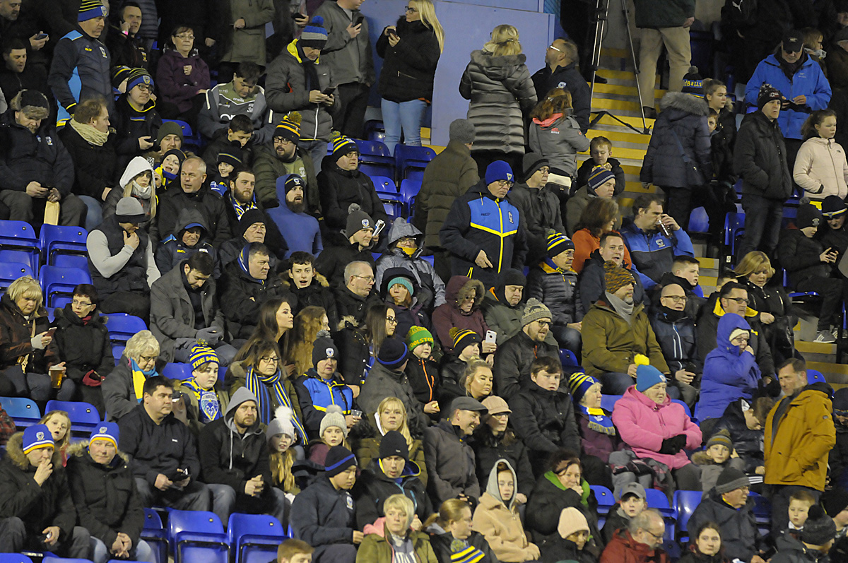 Can you spot yourself in the crowd for Wire v Castleford
