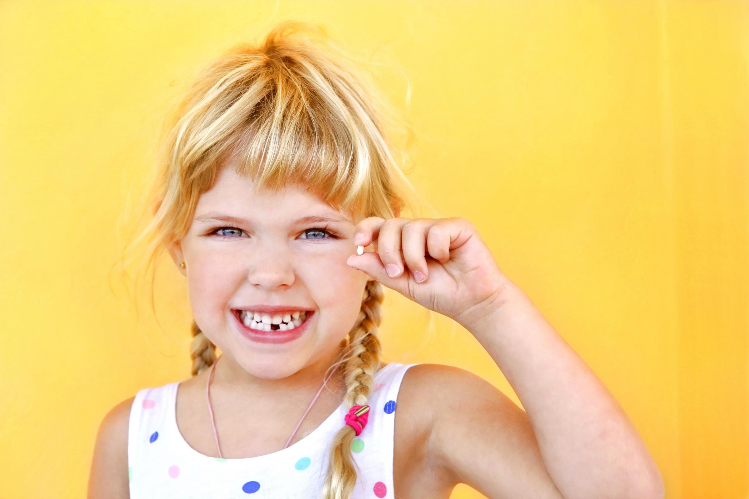 On average, Warrington parents give £1.27 to their kids per tooth