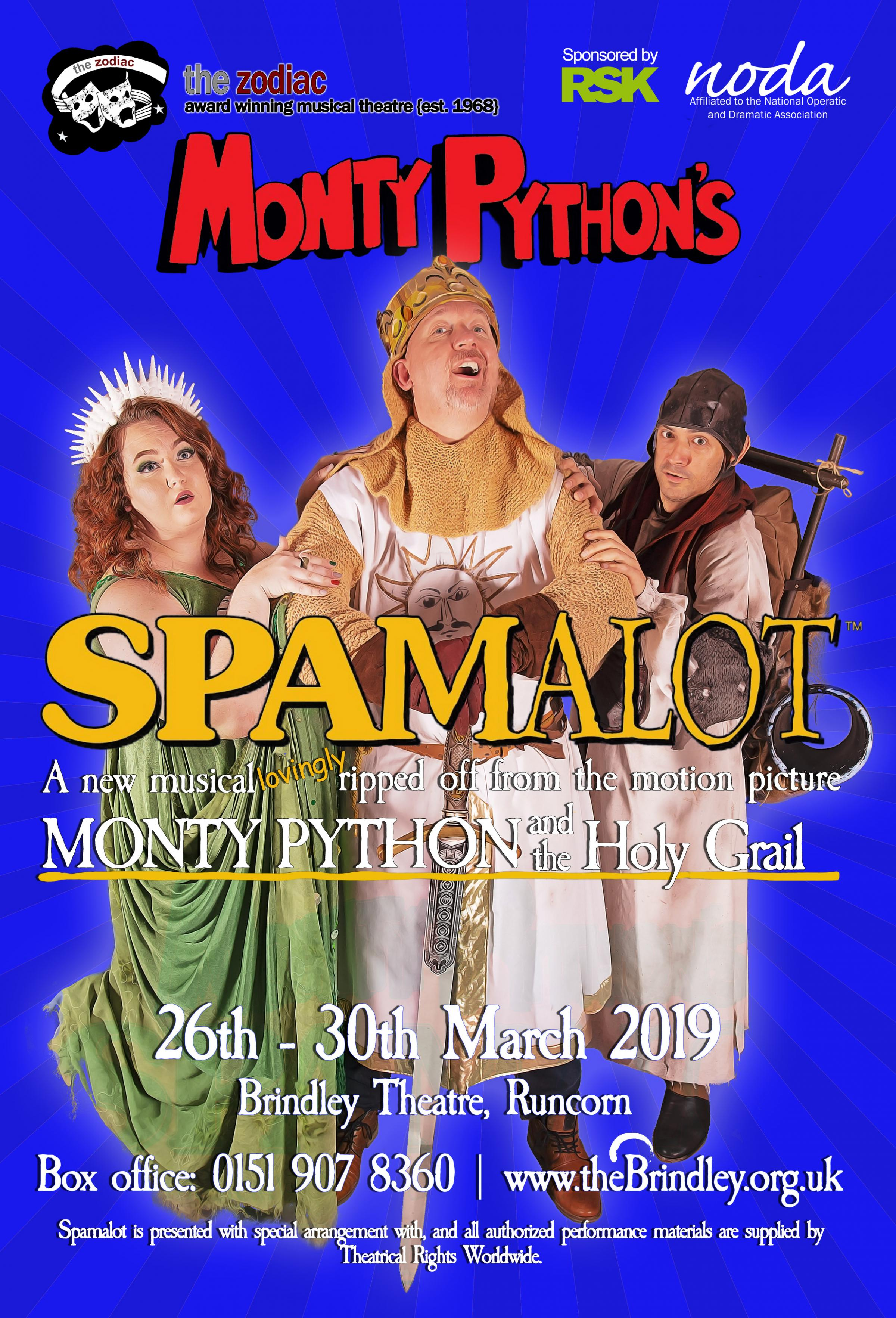Monty Python's Spamalot The Musical