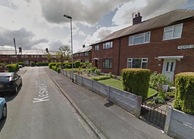 Burglars targeted an elderly woman at her home on Keswick Crescent in Orford. Picture by Google Maps.