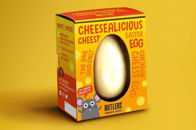 Sainsbury's launches Easter egg made of cheese