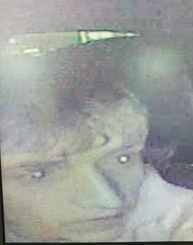 The CCTV image of the man officers wish to speak to