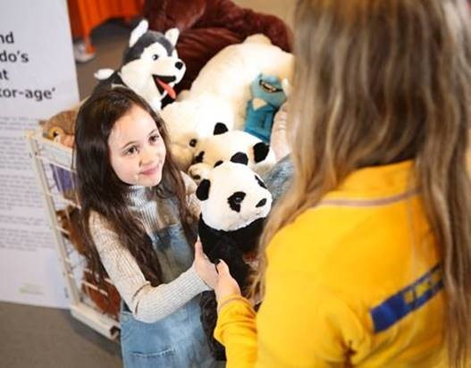 IKEA is offering a discount if you donate your old toys