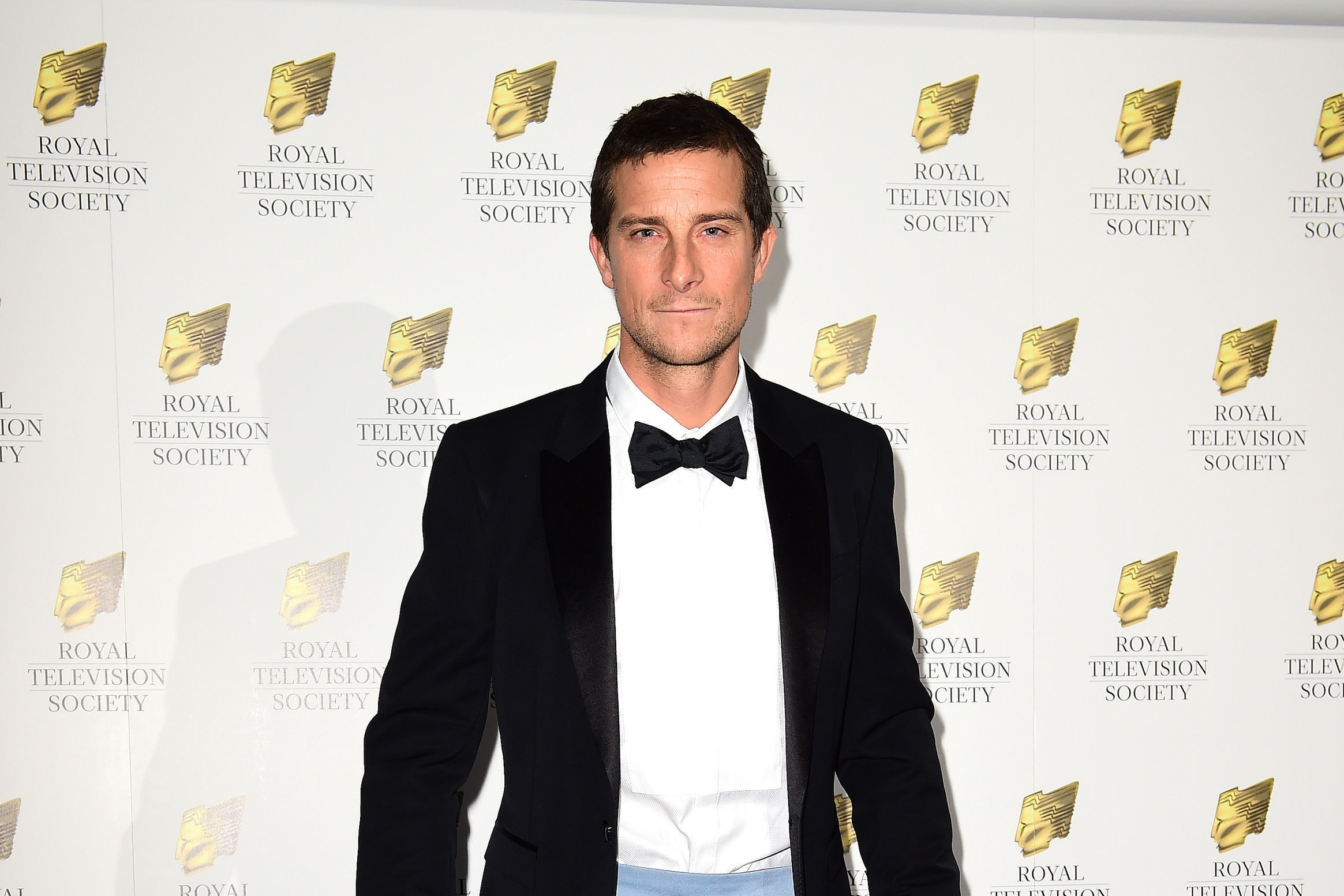 Bear Grylls on the red carpet