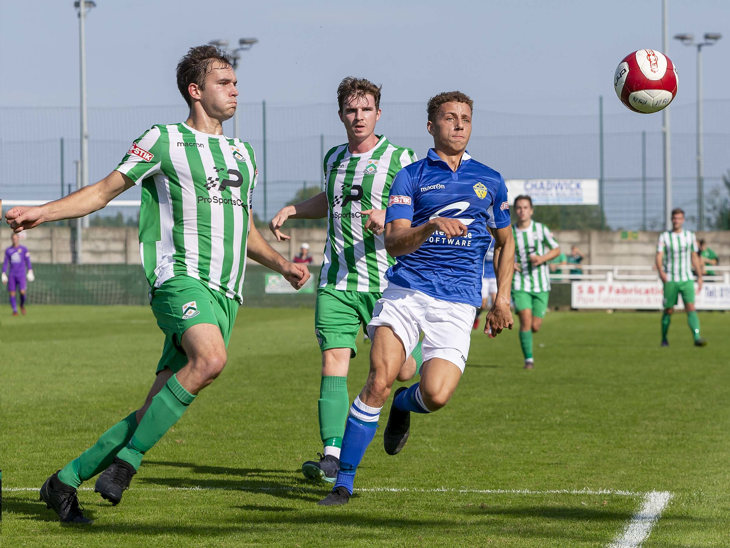 Warrington won 5-0 away at North Ferriby United in September. Picture by John Hopkins