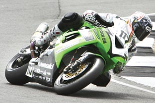 Warrington Guardian: Simon Andrews made an impressive World Superbikes debut at Donington Park. Picture: DARREN PRICE