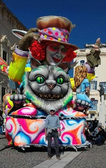 Malta carnival pays tribute to Warrington's Alice in Wonderland