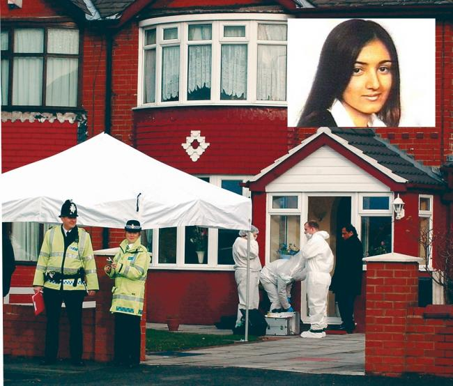 The killing of Shafilea Ahmed, pictured inset, will feature in new documentary When Missing Turns to Murder.