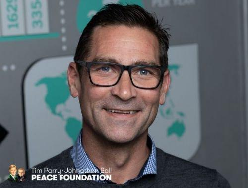 Colin Brew, COO at The Peace Foundation