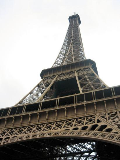 Warrington Guardian: FAMOUS LANDMARK: The Eiffel tower, in Paris, France