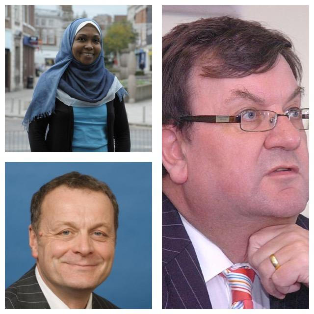 Dr Muna Abdel Aziz, Andy Farrall and Steven Broomhead feature on the Town Hall 'rich list'