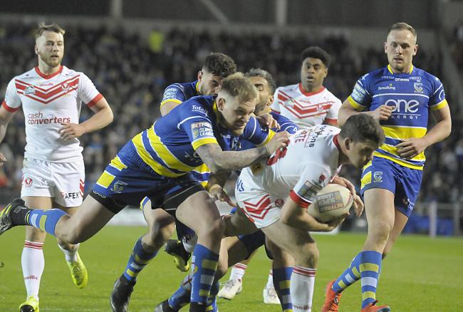 The Wire struggled to contain St Helens on Friday. Picture by Mike Boden