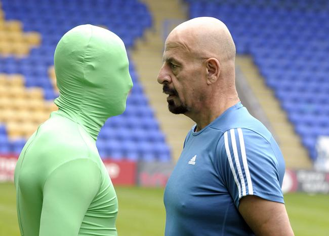 The Wire Flyer squares up with former Salford Red Devils owner Marwan Koukash before their Good Friday clash.