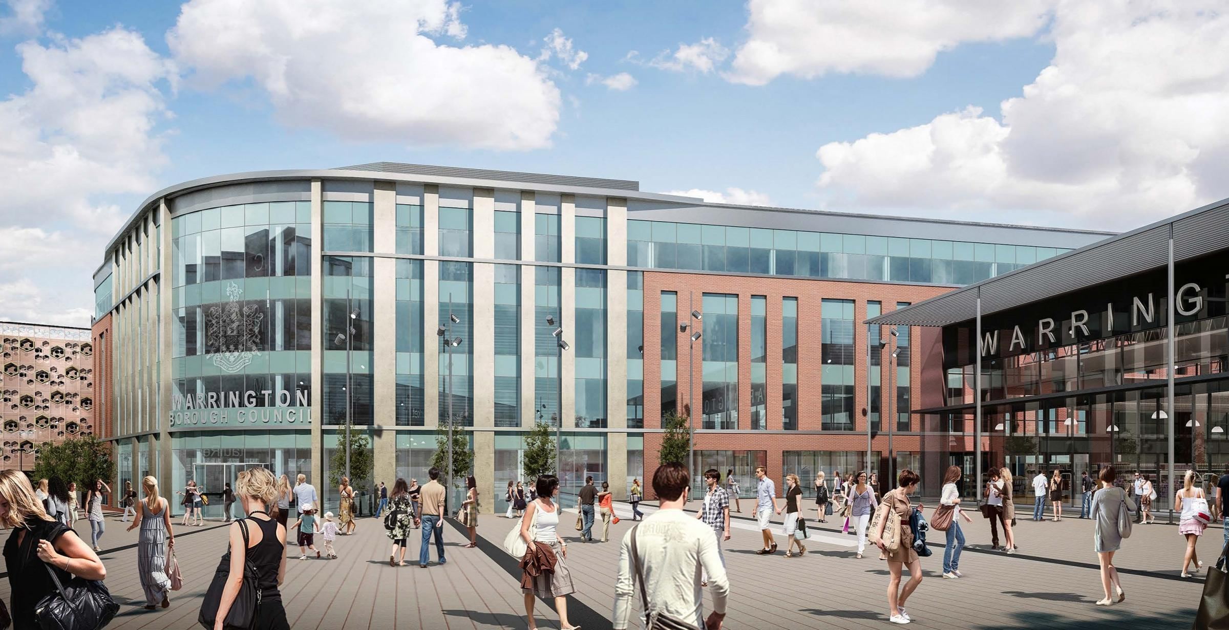 This is the stunning vision for new council offices