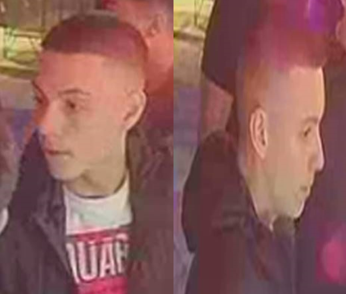 Police have issued new CCTV footage of a man they hope to trace in connection with a stabbing at Block 1 nightclub.