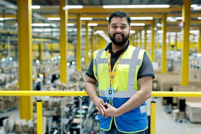 Prashant Pandey, 33, has been appointed as the new site leader at the Omega fulfilment centre