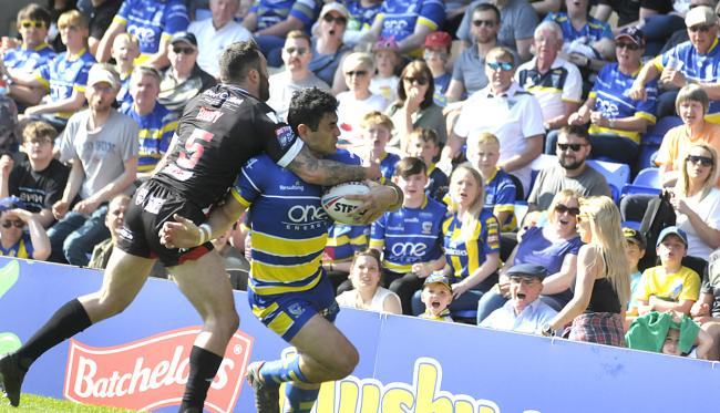 Bryson Goodwin marked his return from injury with a try but it proved immaterial against Salford