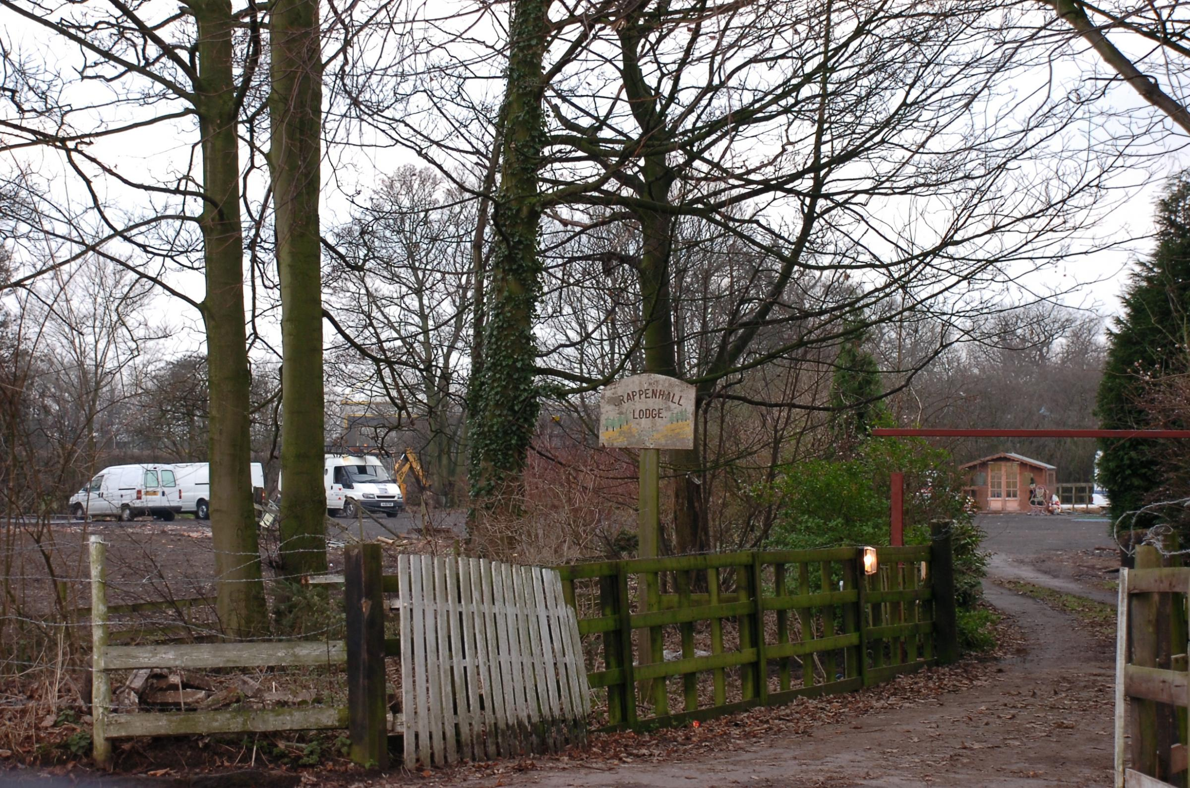 The caravan site in Grappenhall