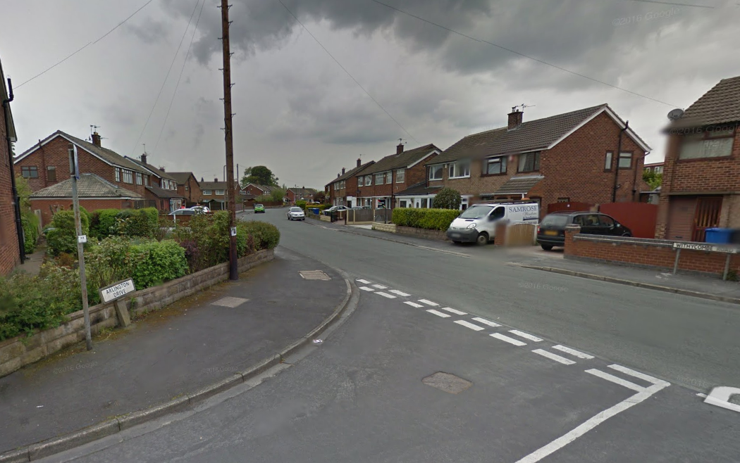 A 70-year-old man was targeted by two women on Withycombe Road in Penketh. Picture by Google Maps.