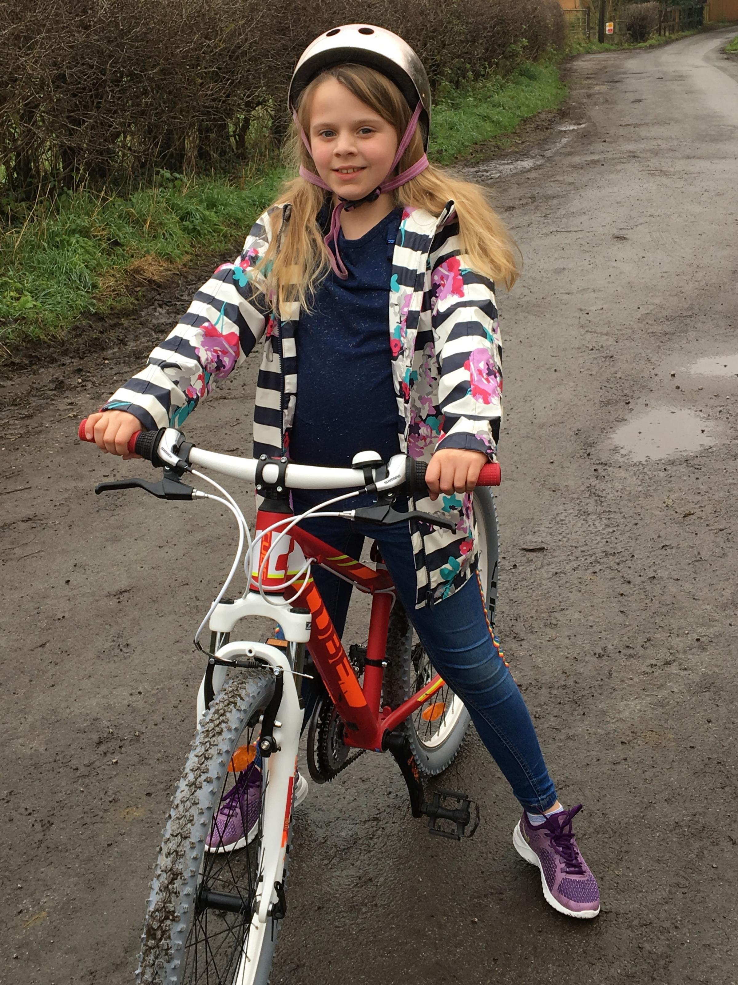 Lymm schoolgirl wins national competition for designing helmet so deaf people can stay safe