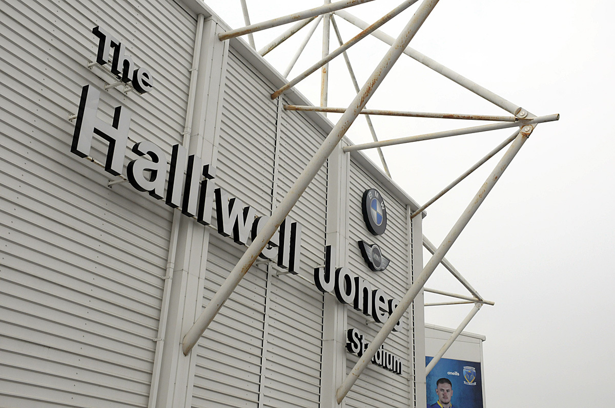 The Halliwell Jones Stadium