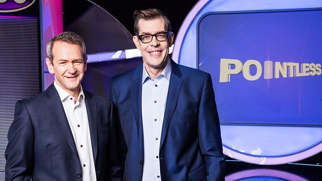 Pointless hosts Alexander Armstrong and Richard Osman. Picture BBC.